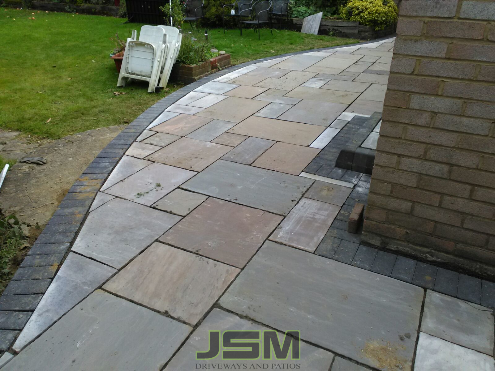 Patio Paving Company in Courteenhall, Milton Keynes
