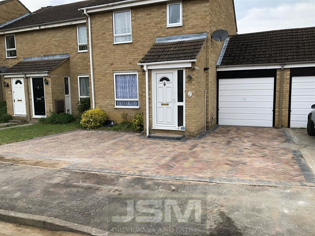 Block Paving Driveways in Courteenhall
