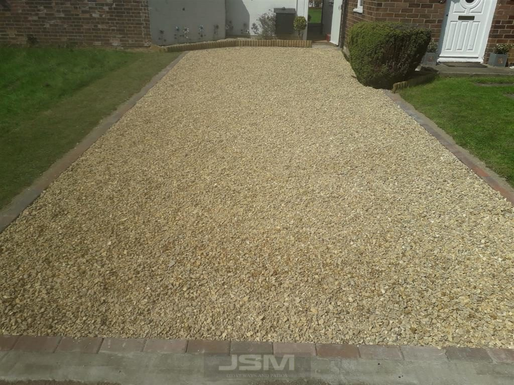 Gravel Driveway Installation in Bletchley, Milton Keynes