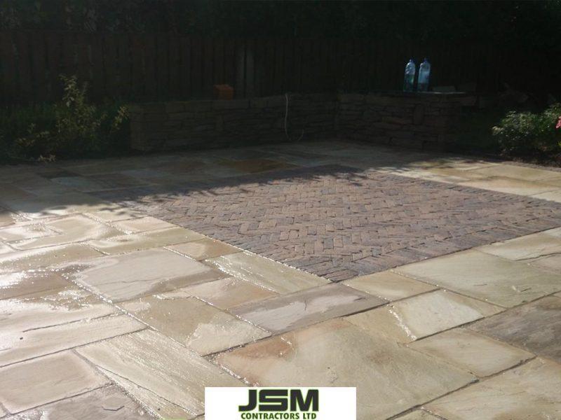 Light Indian Sandstone Laid By JSM