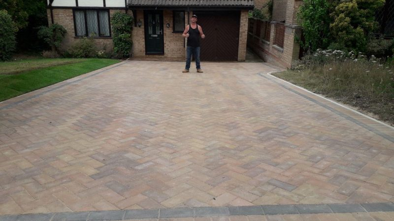 New Driveway With Paving in Winslow