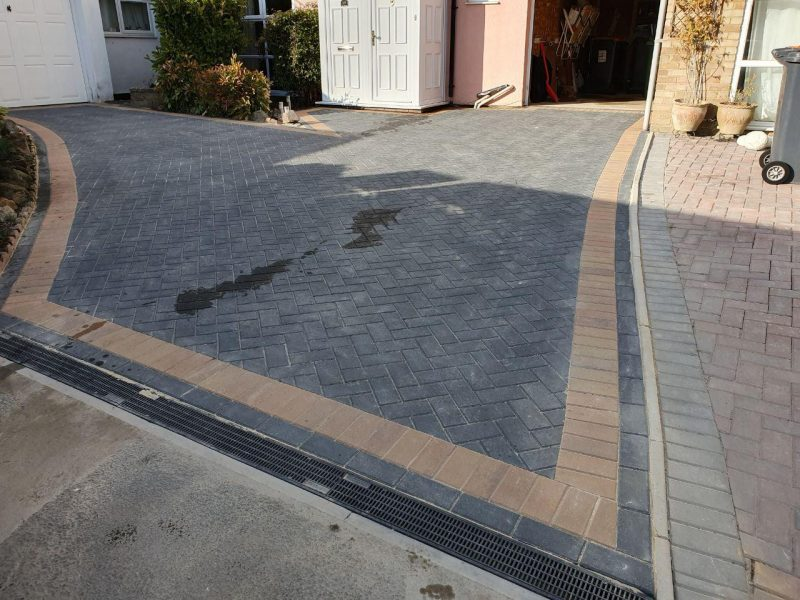 New Driveway Installation With Drainage in Milton Keynes