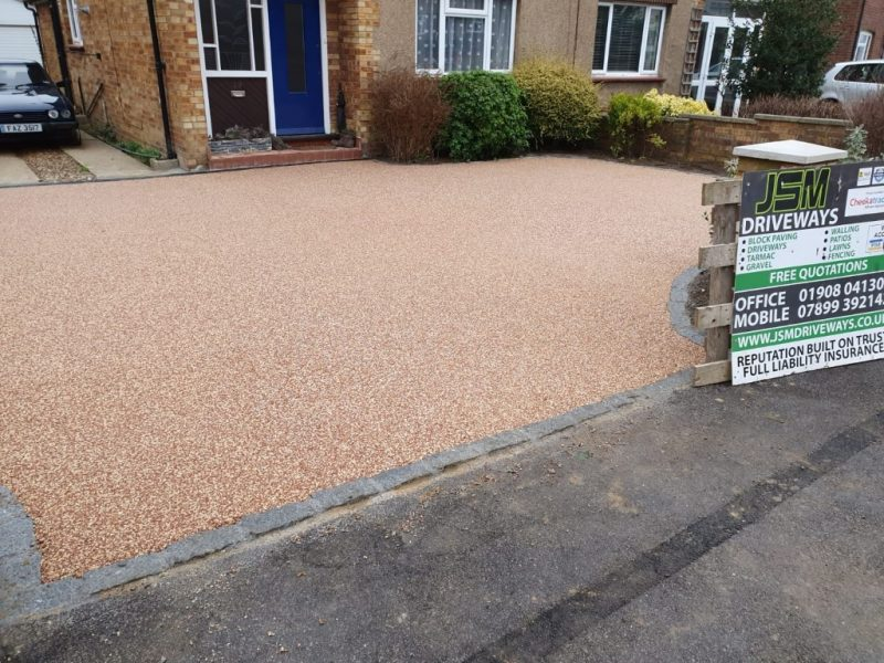 Resin Bound Driveway in Bletchley, Milton Keynes