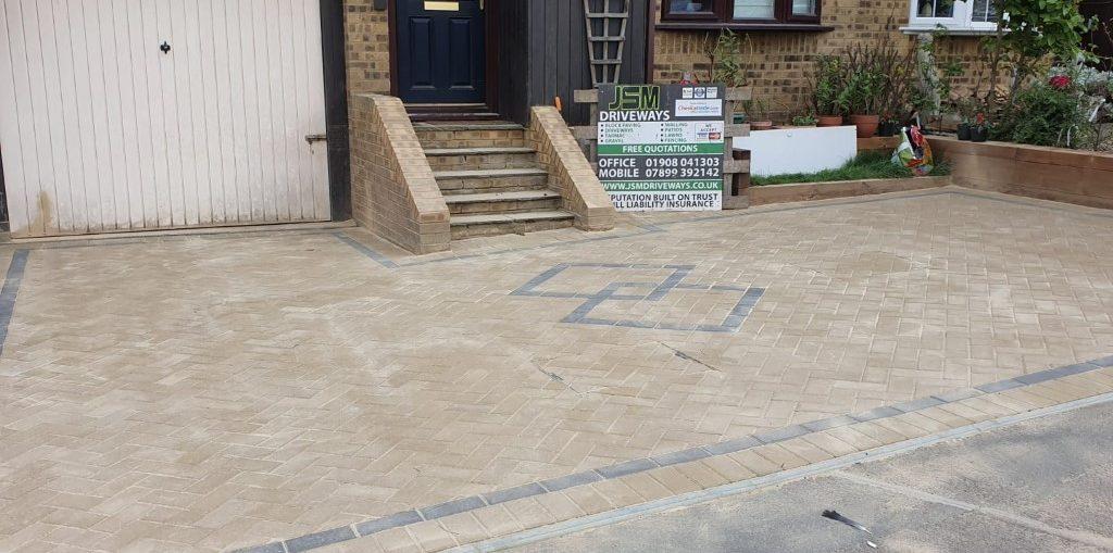 Driveway Repair - Lift and Relay in Milton Keynes