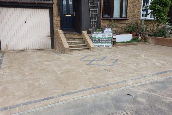 Driveway Repair – Lift and Relay in Milton Keynes