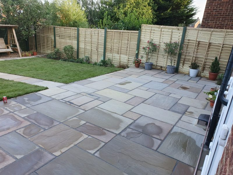 New Patio in Bletchley